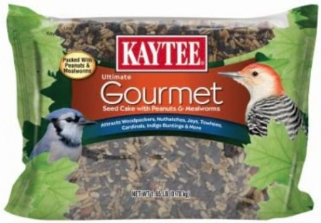 Kaytee Gourmet Seed Cake with Peanuts and Mealworms For Wild Birds alternate img #1