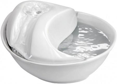 Pioneer Pet Raindrop Ceramic Drinking Fountain - White alternate img #3