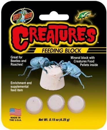 Zoo Med Creatures Feeding Block alternate img #1