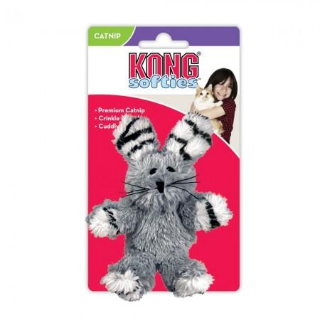 KONG Softies Fuzzy Bunny Cat Toy alternate img #1
