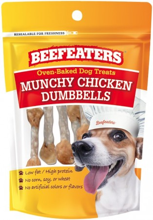 Beafeaters Oven Baked Munchy Chicken Dumbells Dog Treat alternate img #1