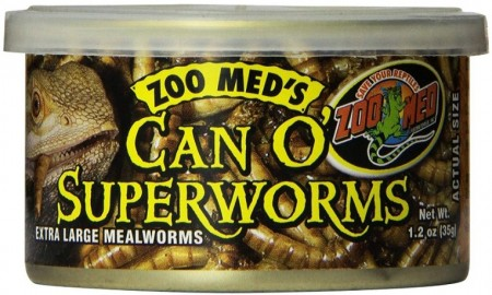 Zoo Med Can O Superworms Extra Large Mealworms alternate img #1