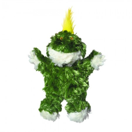 KONG Plush Frog Dog Toy alternate img #2