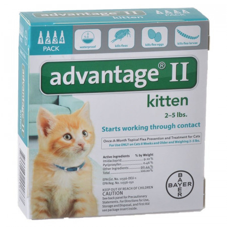 Advantage II for Kittens alternate img #1