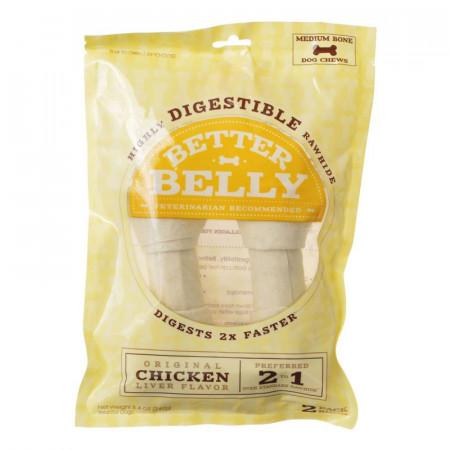 Better Belly Rawhide Chicken Liver Bones - Medium alternate img #1