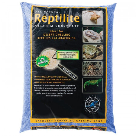 Blue Iguana Reptilite Calcium Substrate for Reptiles - Big Sky Blue alternate img #1