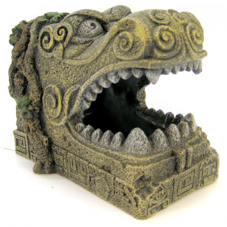 Blue Ribbon Exotic Environments Serpent Head Tomb Ornament alternate img #1