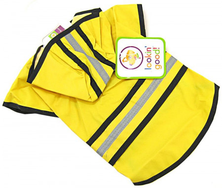 Fashion Pet Rainy Days Slicker - Yellow alternate img #1