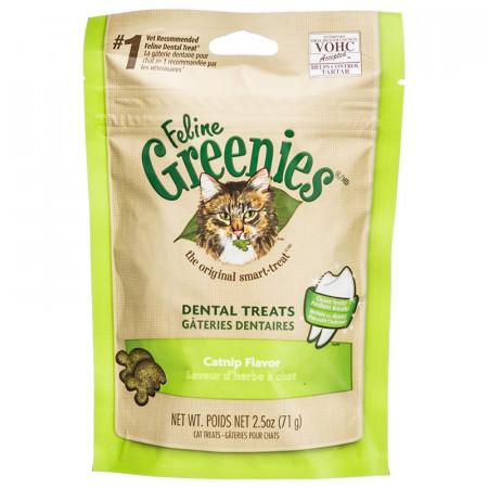 Greenies Feline Dental Treats - Catnip Flavor alternate img #1