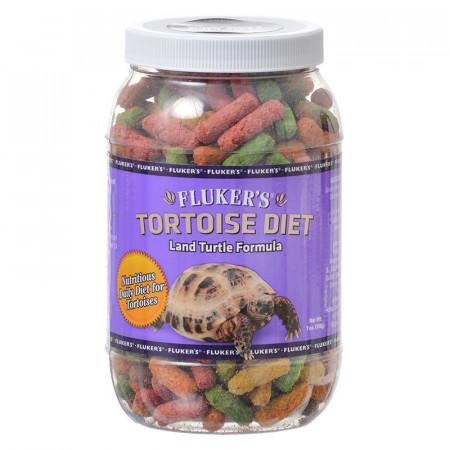 Flukers Land Turtle Formula Tortoise Diet - Large Pellet alternate img #1