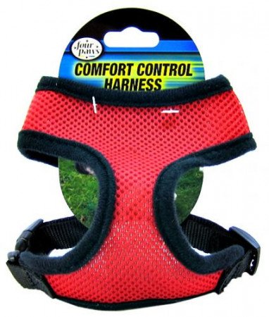 Four Paws Comfort Control Harness - Red alternate img #1