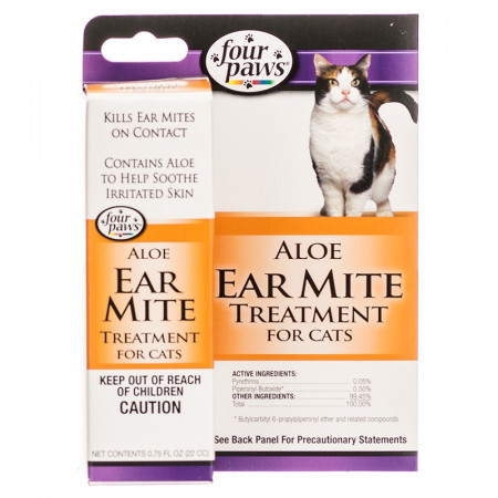 Four Paws Ear Mite Remedy For Cats alternate img #1