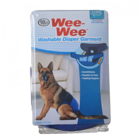 Four Paws Wee Wee Washable Diaper Garment - X-Large alternate img #1