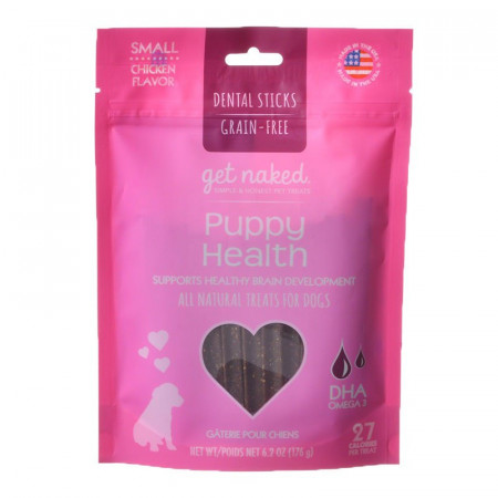 Get Naked Puppy Health Dental Chew - Small alternate img #1