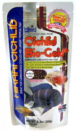 Hikari Cichlid Bio Gold+ Floating Medium Pellet Food alternate img #1