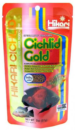 Hikari Cichlid Gold Floating Baby Pellet Food alternate img #1