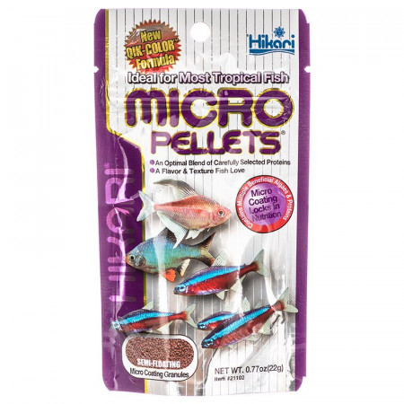 Hikari Micro Pellets Tropical Fish Food alternate img #1
