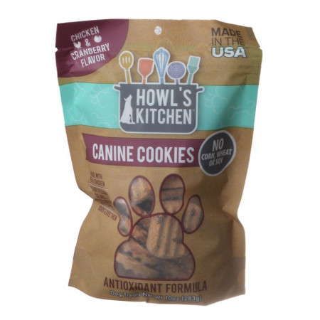 Howls Kitchen Canine Cookies Antioxidant Formula Chicken and Cranberry alternate img #1