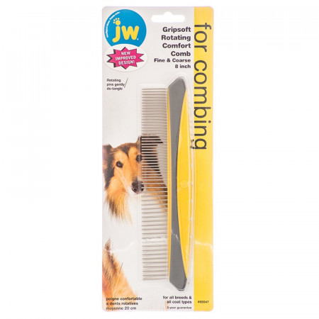 JW GripSoft Rotating Comfort Comb alternate img #1