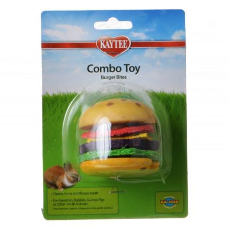 Kaytee Combo Toy - Burger Bites alternate img #1