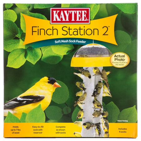 Kaytee Finch Station 2 Soft Mesh Sock Feeder alternate img #1