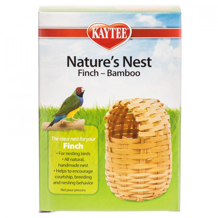 Kaytee Natures Nest Bamboo Finch Nest alternate img #1