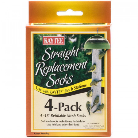Kaytee Straight Replacement Socks for Finch Station alternate img #1