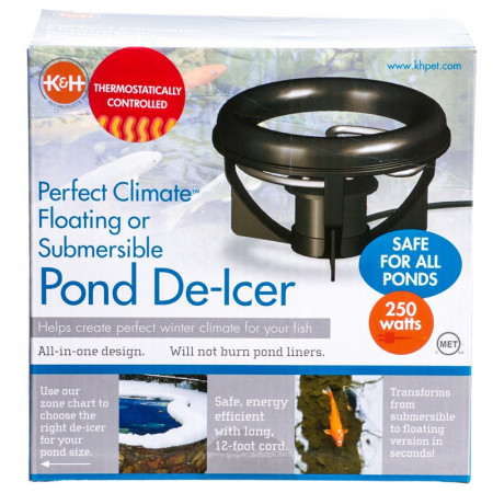 K&H Pet Thermo-Pond Perfect Climate Deluxe Pond De-Icer alternate img #1
