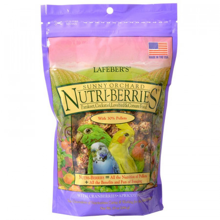 Lafeber Sunny Orchard Nutri-Berries Parakeet, Cockatiel and Conure Food alternate img #1