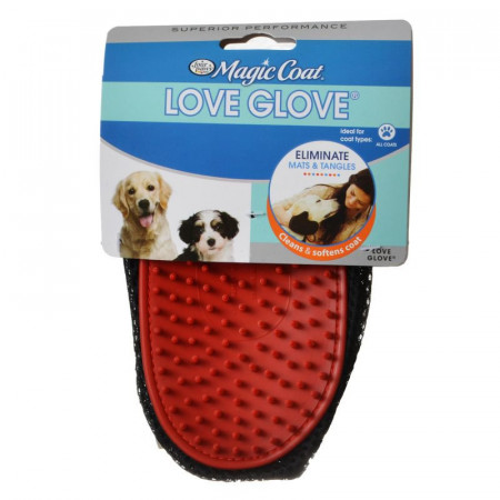 Four Paws Love Glove Grooming Mitt alternate img #1