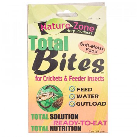 Nature Zone Total Bites for Crickets & Feeder Insects alternate img #1