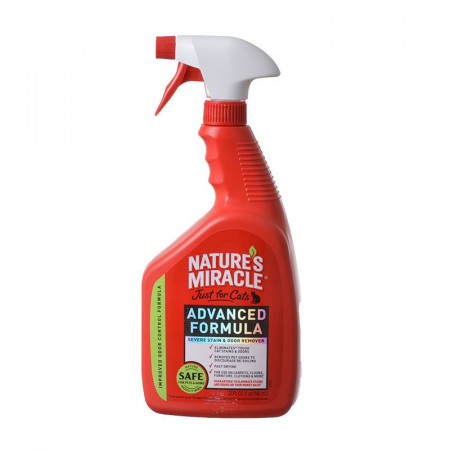 Nature's Miracle Just For Cats Advanced Stain & Odor Remover alternate img #1