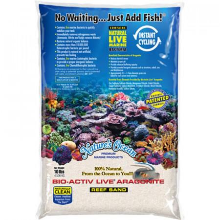 Natures Ocean Bio-Activ Live Aragonite Reef Sand - Natural White #1 alternate img #1