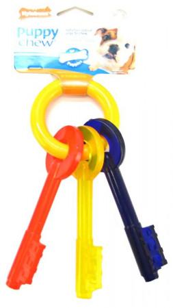 Nylabone Puppy Chew Teething Keys Toy alternate img #1