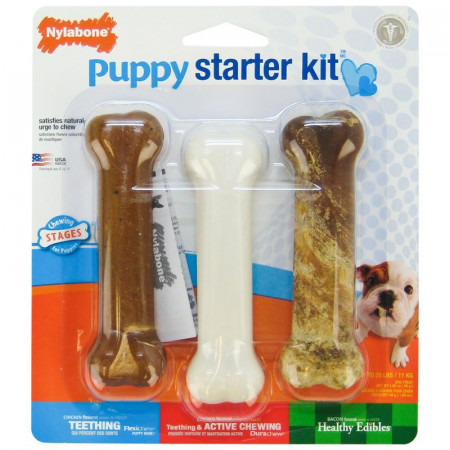 Nylabone Puppy Chew Starter Kit alternate img #1