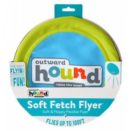 Outward Hound Soft Fetch Flyer Dog Toy alternate img #1