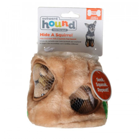 Outward Hound Hide-A-Squirrel Dog Toy alternate img #1