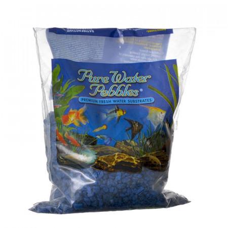 Pure Water Pebbles Aquarium Gravel Marine Blue alternate img #1