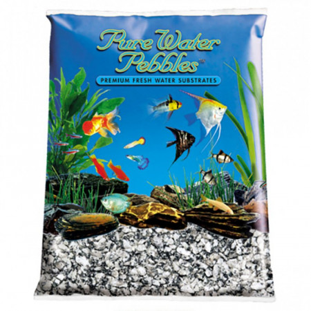 Pure Water Pebbles Aquarium Gravel - Silver Mist alternate img #1