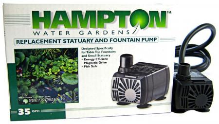 Hampton Replacement Statuary and Fountain Pump alternate img #1