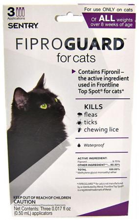 Sentry FiproGuard for Cats alternate img #1