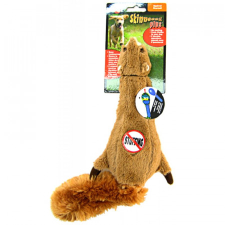 Skinneeez Plus Plush Squirrel alternate img #1