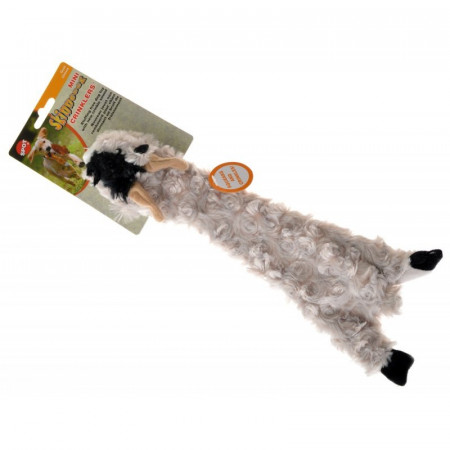Skinneeez Crinklers Goat Dog Toy alternate img #1