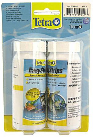 Tetra EasyStrips Aquarium Tests - Ammonia & 6-in-1 Strips alternate img #1
