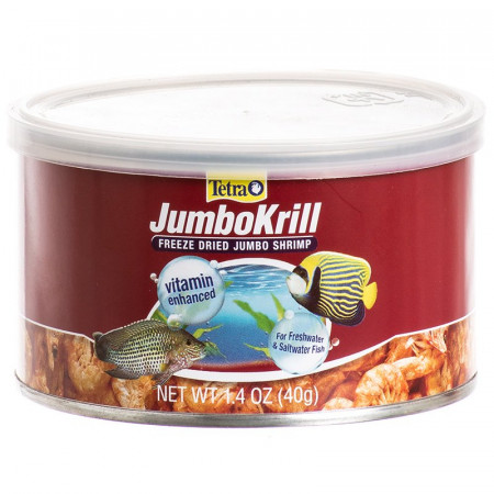 Tetra JumboKrill Freeze Dried Jumbo Shrimp alternate img #1