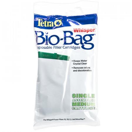 Tetra Whisper Bio-Bag Disposable Filter Cartridges - Medium alternate img #1