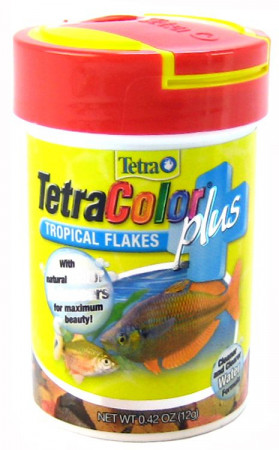 Tetra Color Plus Tropical Flakes alternate img #1