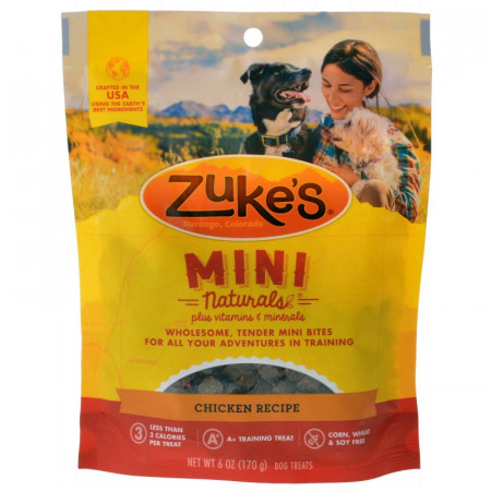 Zukes Mini Naturals Dog Treats - Chicken Recipe alternate img #1