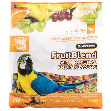 ZuPreem FruitBlend Flavor Bird Food for Large Birds alternate img #1
