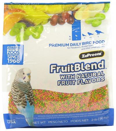 ZuPreem FruitBlend Premium Daily Bird Food for Small Birds alternate img #1